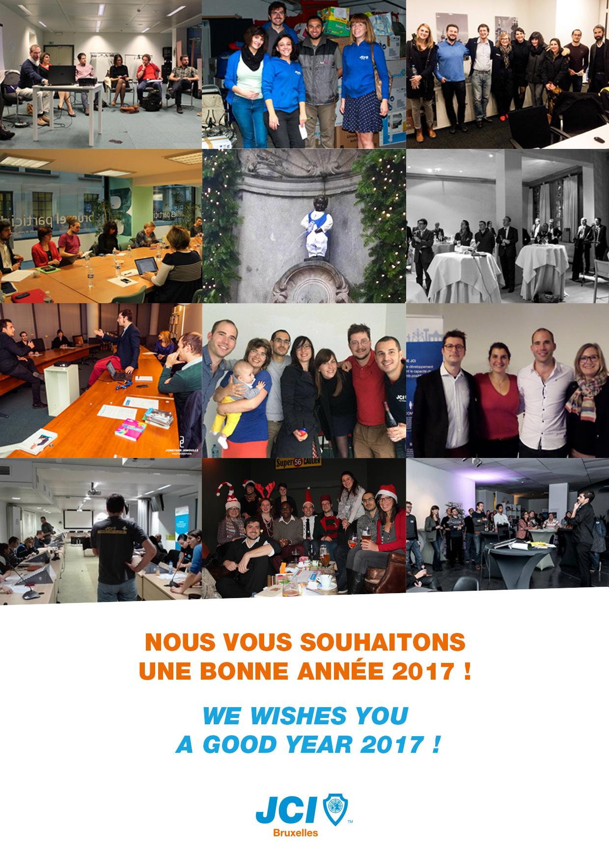JCI Bruxelles - Voeux 2017