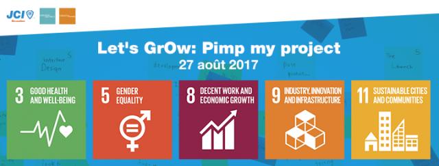 Let's GrOw: Pimp My Project