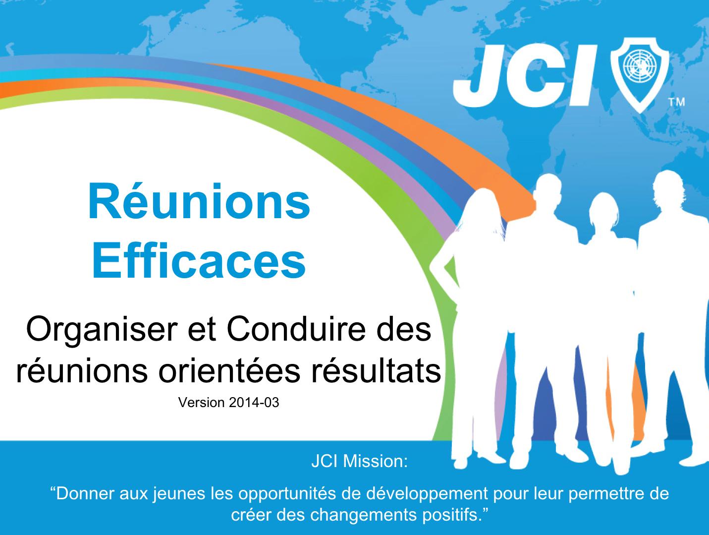 JCI Réunions Efficaces – 2020